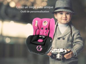 Personnaliser le siège auto bébé
