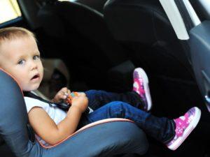 Evitez les sièges auto d'occasion