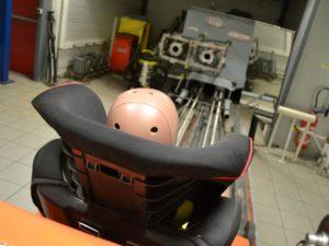 Crash Test intégré pour plus de sécurité