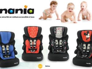 Siège auto BELINE Nania – sécurité pour les petits budgets