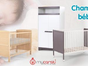 Équipez la chambre de bébé avec nos meubles en bois