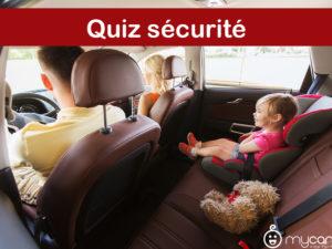 Quiz sécurité : Testez vos connaissances en matière de sécurité en voiture