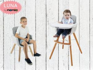 Nouveauté : La Chaise Haute LUNA 2 en 1 de Nania à découvrir sur mycarsit.com