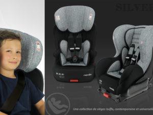 Collection SILVER de Nania : des sièges auto techniques et tendances
