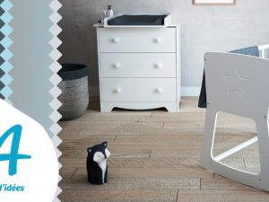 AT4, des petits mobiliers bébés en bois, évolutifs et design