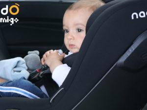 Les sièges auto I-Size Nado x Migo : des sièges de sécurité renforcée