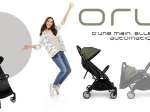 Nouveau : la poussette ORLA avec pliage automatique