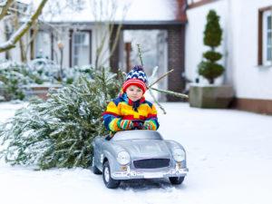Trajets en voiture avec un enfant pendant l'hiver  : nos 10 conseils sécurité !