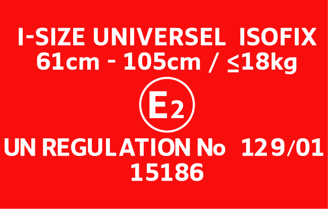 norme r129 isize