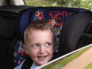 Un siège auto adapté pour plus de sécurité
